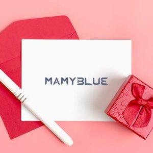 tarjeta regalo mamyblue